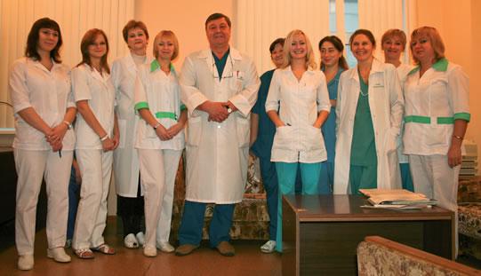 Сотрудники отделения анестезиологии и реанимации